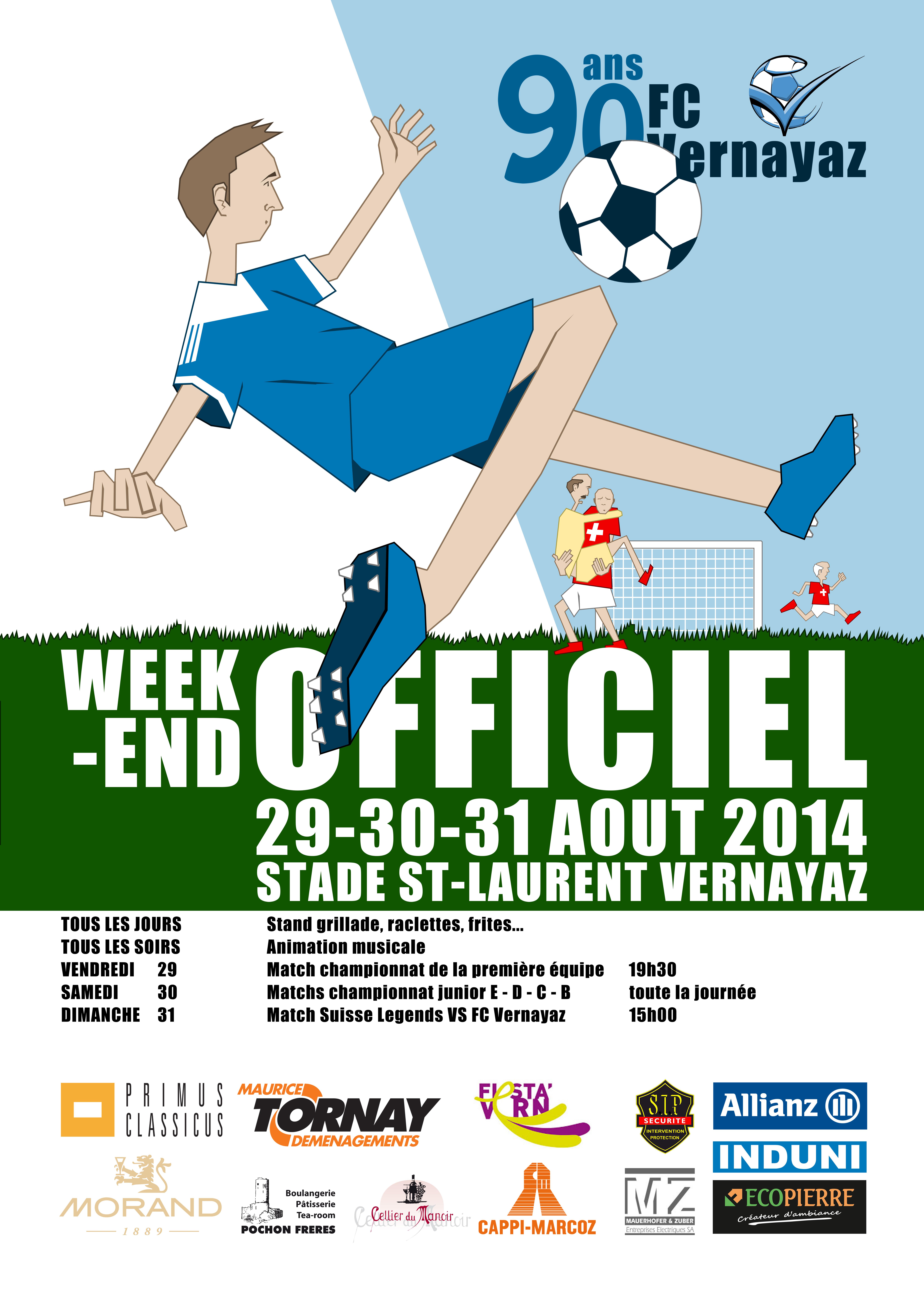 AFFICHE FC VERNAYAZ