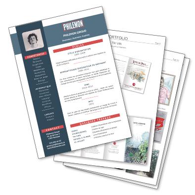 CV et Portfolio