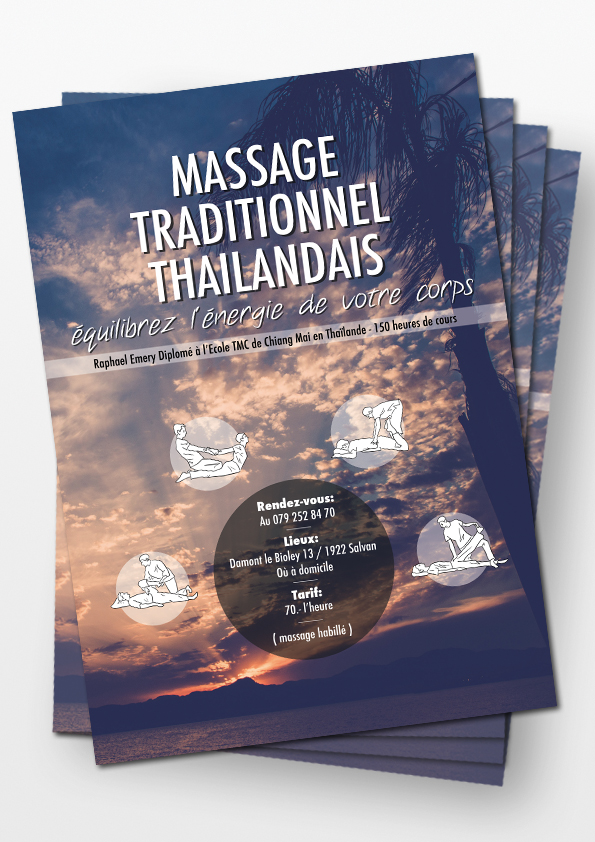 Massages traditionnels Thaïlandais